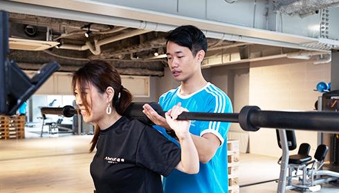 筋力トレーニング 写真